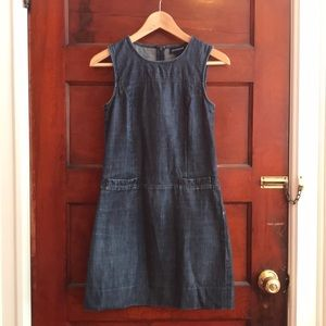 Ann Taylor fitted jean dress